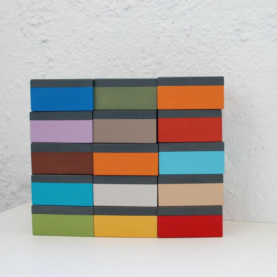 """Maža medinė dėžutė """"Raudona"""" (box-12)"""