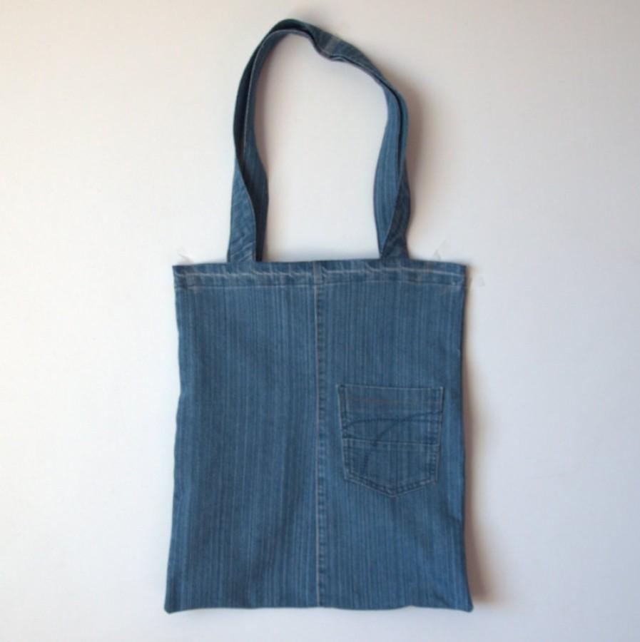 Nemadingo džinso krepšys kasdienai